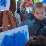 Trabajando con Joan Miró en Sala Azul